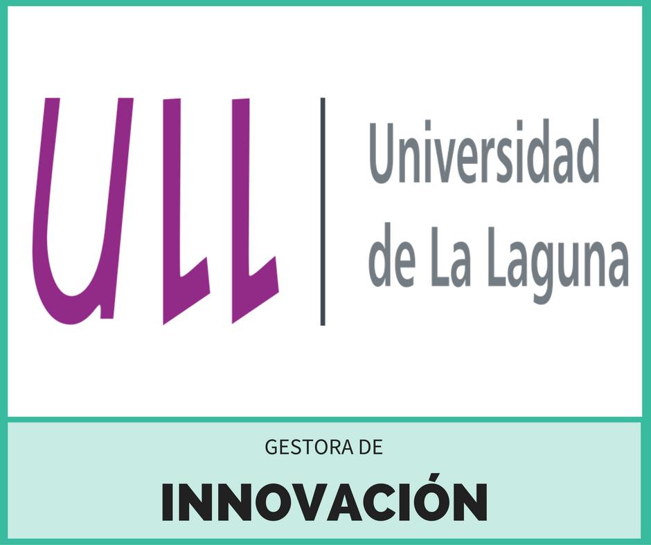 Universidad de la Laguna. Gestora de Innovación.