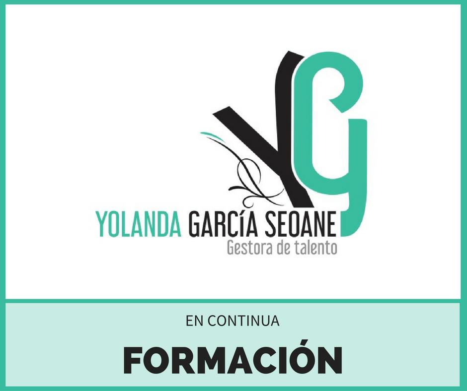 Yolanda García Seoane. Gestora de Talento. En Continua Formación.